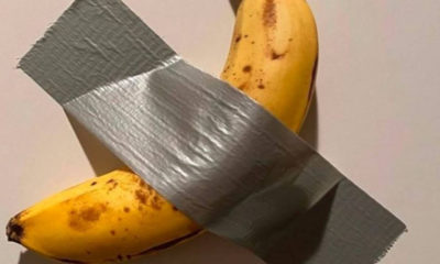 Banana duct-taped to a wall sells for $120,000 138