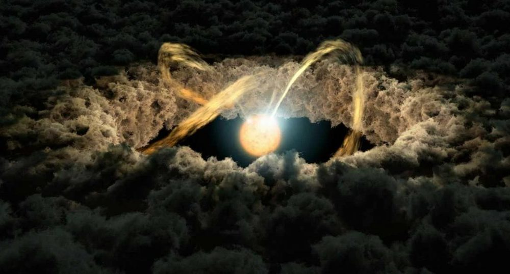 Strange flashing lights found in deep space and astronomers assume that they are alien technology 88