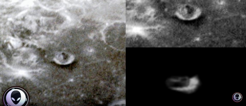 """The LRO space probe photographs a """"mysterious structure"""" on the moon 96"""