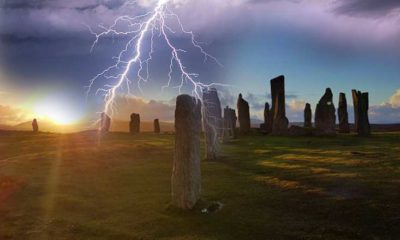 "United Kingdom, mysterious ""Magnetic Anomaly"" discovered in the stone circle of Tursachan Chalanais 93"