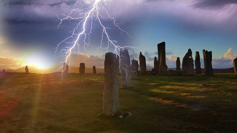 "United Kingdom, mysterious ""Magnetic Anomaly"" discovered in the stone circle of Tursachan Chalanais 17"