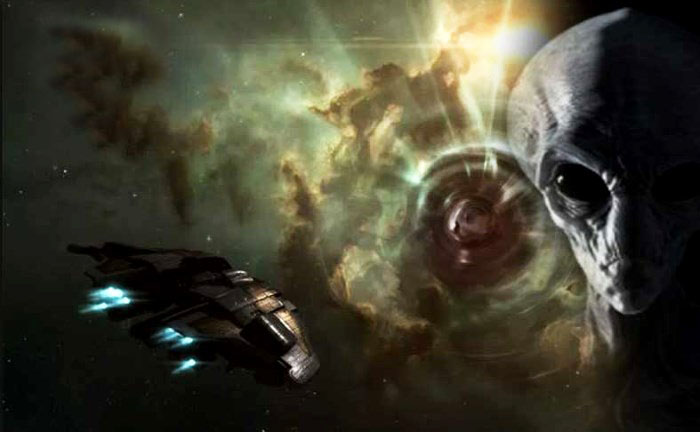 Alien spaceships can be traced using Gamma Ray telescopes 10