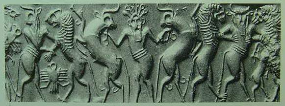 Why are these ancient images of the Lord of the Animals appearing all over the world? 114