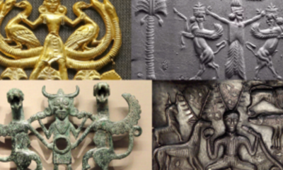 Why are these ancient images of the Lord of the Animals appearing all over the world? 278
