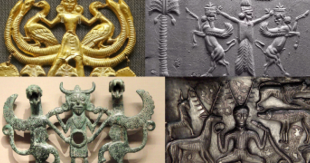 Why are these ancient images of the Lord of the Animals appearing all over the world? 25