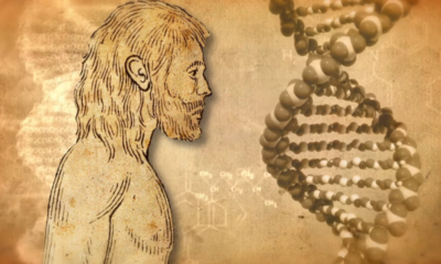 Have alien hidden messages encoded in human DNA? 89