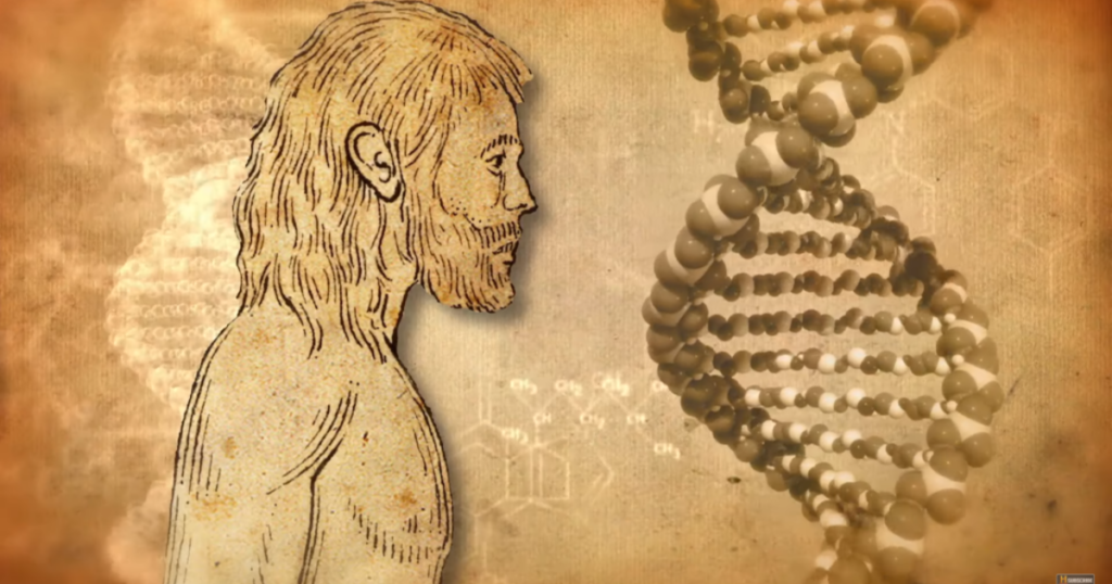 Have alien hidden messages encoded in human DNA? 8