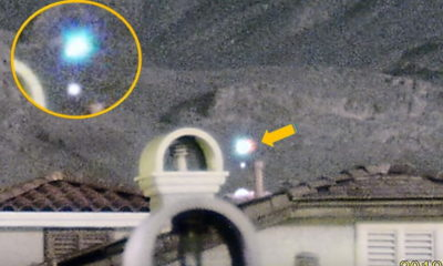 Spectacular UFO sighting is recorded on Las Vegas' Little Red Rock 92