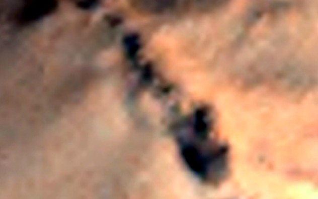 Mysterious ancient structures prove that Aliens lived on the Red Planet 10