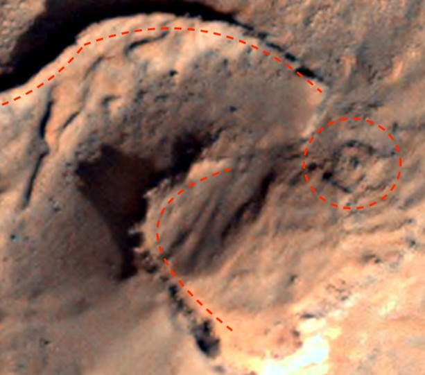 Mysterious ancient structures prove that Aliens lived on the Red Planet 9