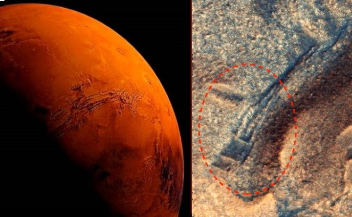 Mysterious ancient structures prove that Aliens lived on the Red Planet 7