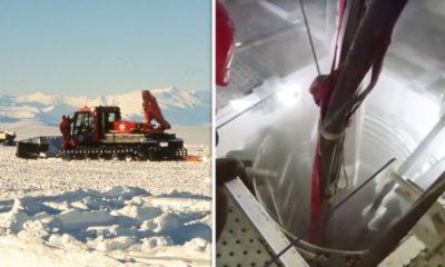 Antarctica shock: Scientists' groundbreaking discovery 400ft below ice revealed 96