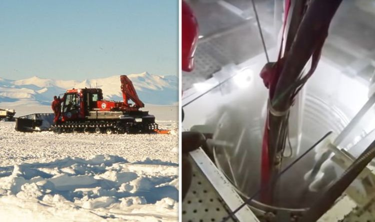 Antarctica shock: Scientists' groundbreaking discovery 400ft below ice revealed 88