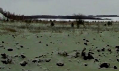 Green snow falls on Russian city already terrified by meteor 99