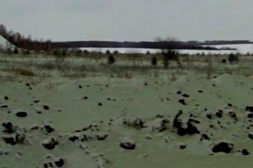 Green snow falls on Russian city already terrified by meteor 3