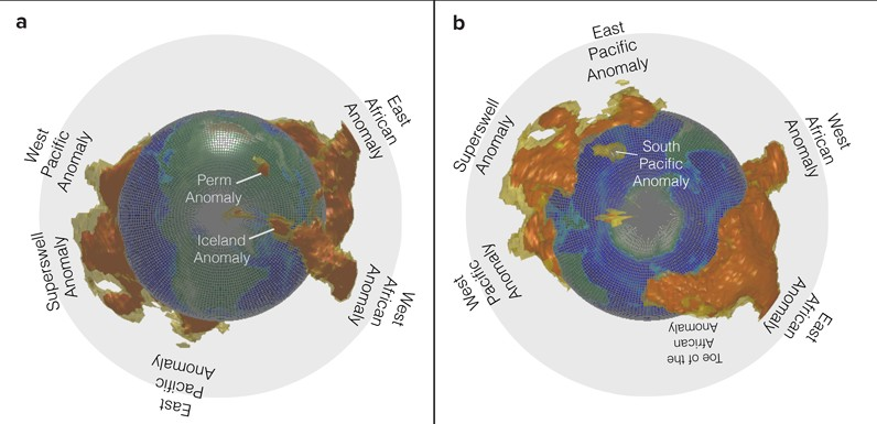 """Huge anomalies"" at the edge of the earth's core 14"