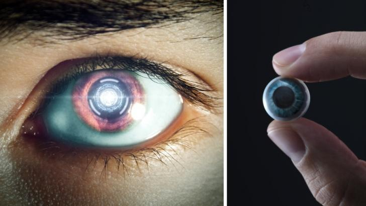 Future hyperreality: Prototype of a smart contact lens 1