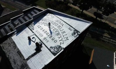 This haunted hotel houses a huge Ouija board 87