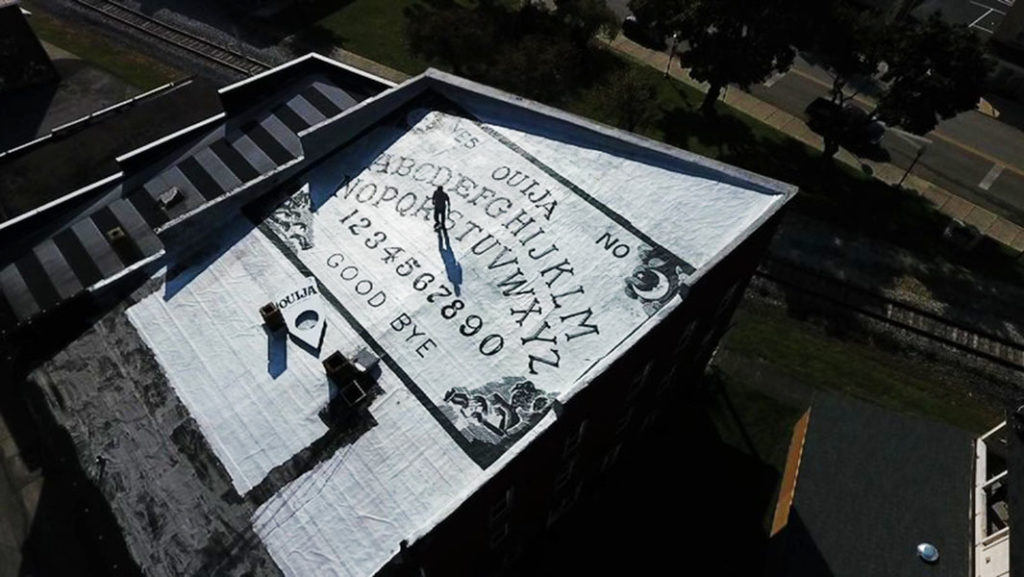 This haunted hotel houses a huge Ouija board 86