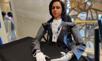 India will send a humanoid female robot into space 95