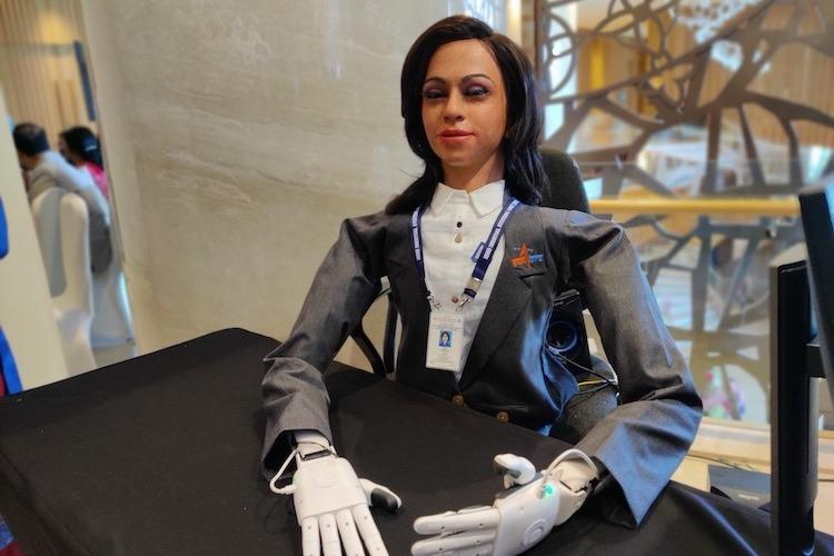 India will send a humanoid female robot into space 9