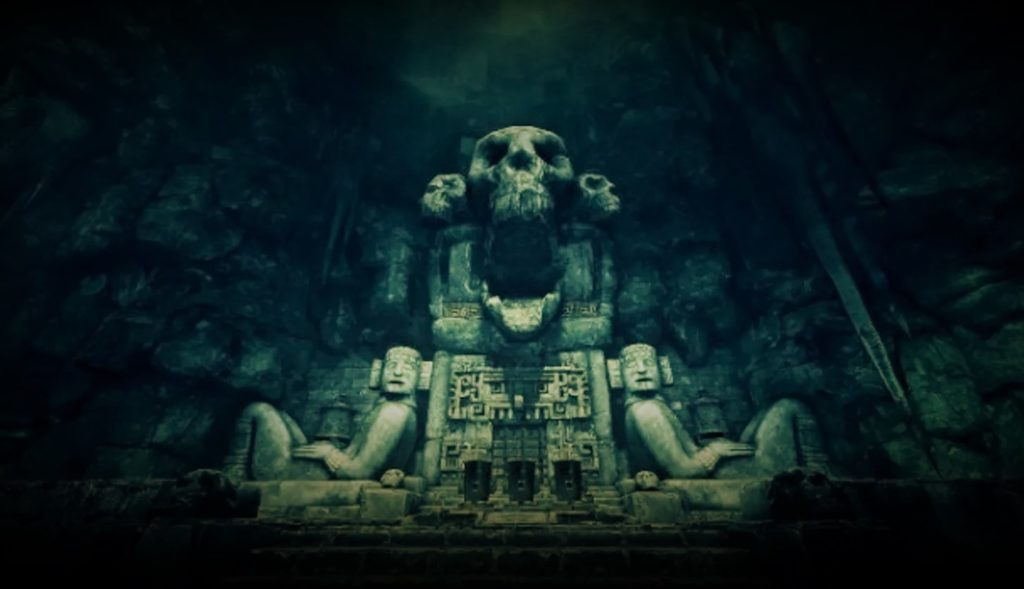Where the dead travel to according to Mayans 92