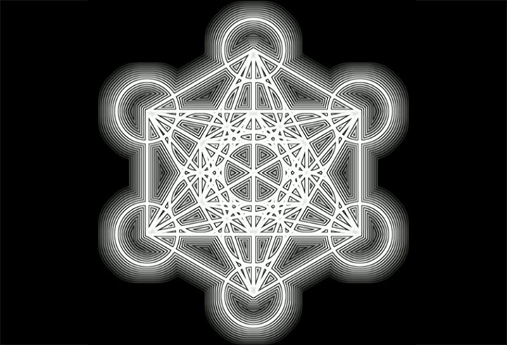The Metatron cube: sacred glyph related to the structure of the universe 94