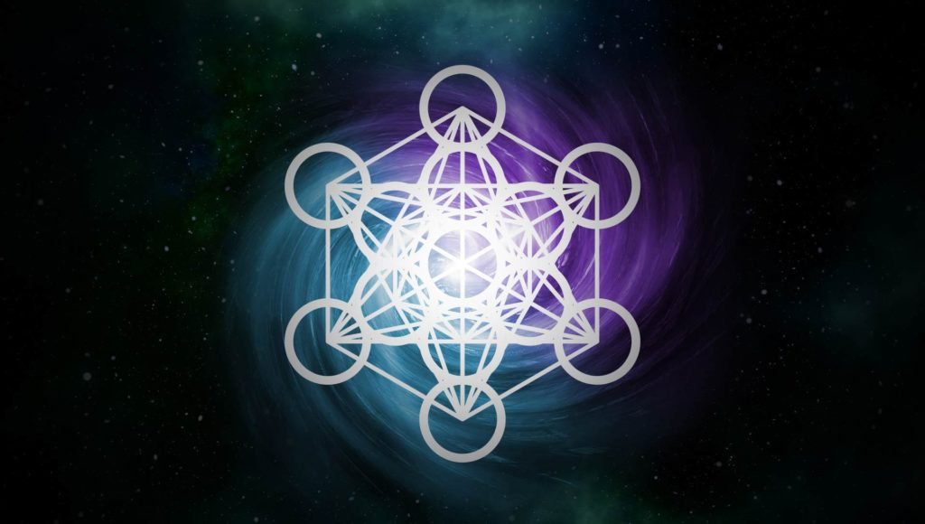The Metatron cube: sacred glyph related to the structure of the universe 1
