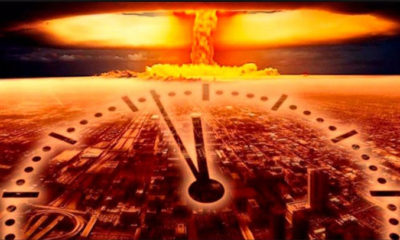 Doomsday clock is reset to closer to the end: 100 seconds 87
