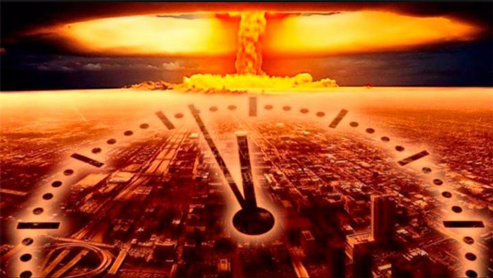 Doomsday clock is reset to closer to the end: 100 seconds 8