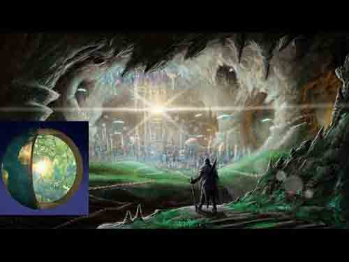 The theory of a hollow earth, real facts 92