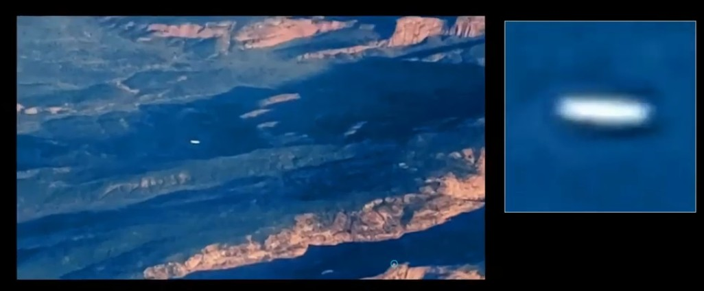Pilot films a UFO flying over Zion National Park, Utah 94
