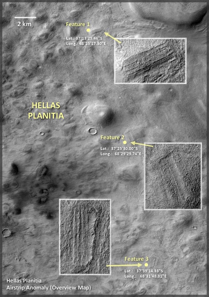 """""""Mars Alien Structures"""" similar to Zigurrat in the Hellas Planitia region 22"""