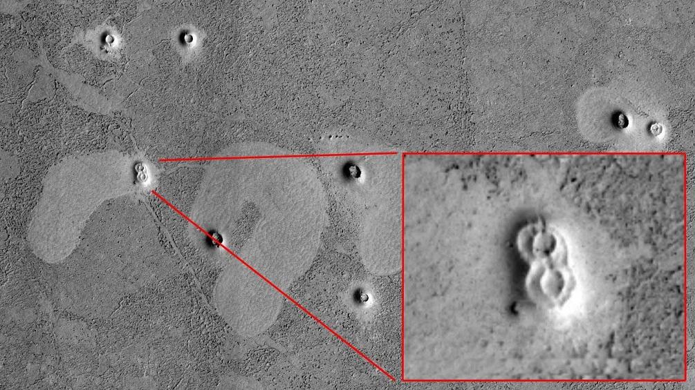 """""""Mars Alien Structures"""" similar to Zigurrat in the Hellas Planitia region 21"""