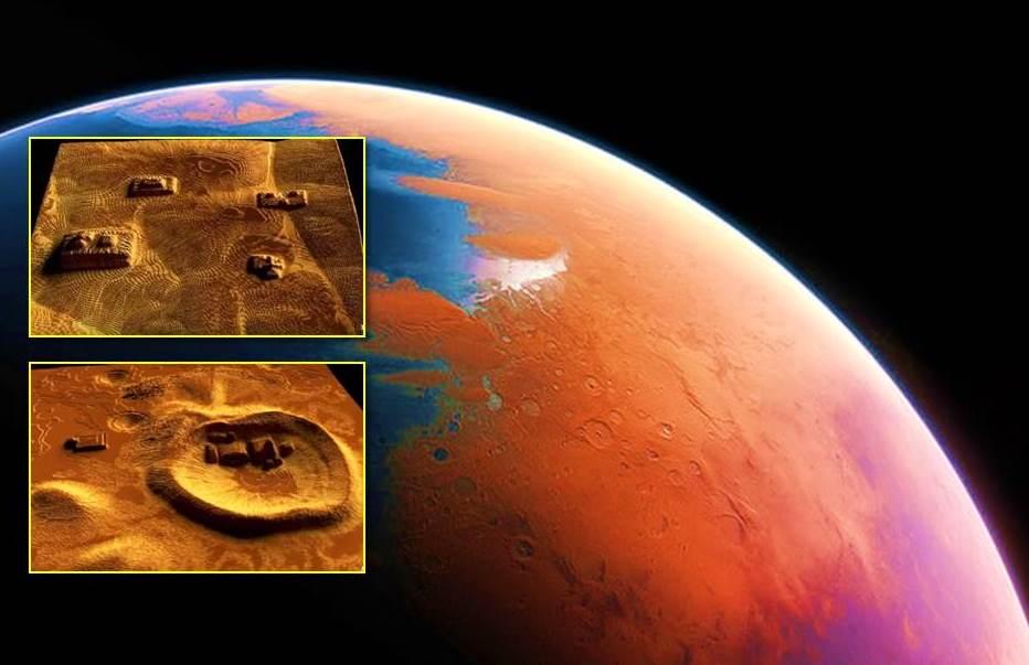 """""""Mars Alien Structures"""" similar to Zigurrat in the Hellas Planitia region 15"""