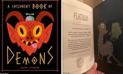 A children's book on demons with summoning instructions 89