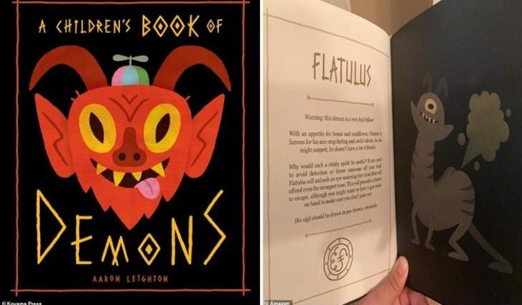 A children's book on demons with summoning instructions 7