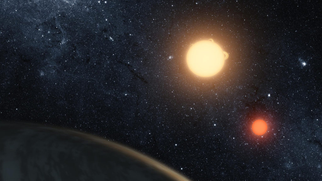 'A world with two stars': a teenager discovers an unusual planet while doing internships at NASA 1