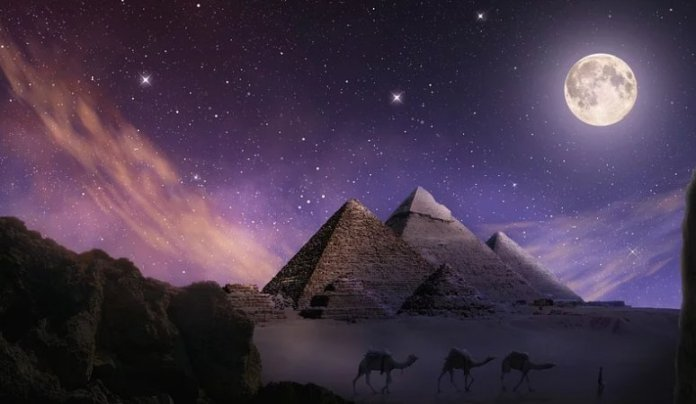 Connection between Alpha Draconis and Egyptian Pyramids Revealed
