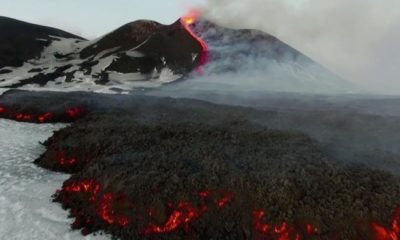 Etna volcano activity associated with the movement of the poles of the Earth 90