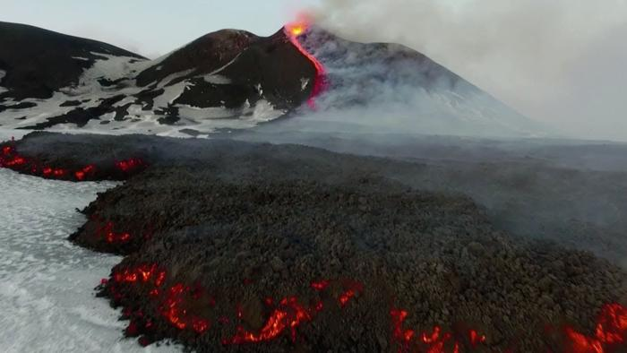 Etna volcano activity associated with the movement of the poles of the Earth 10