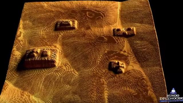 """""""Mars Alien Structures"""" similar to Zigurrat in the Hellas Planitia region 17"""
