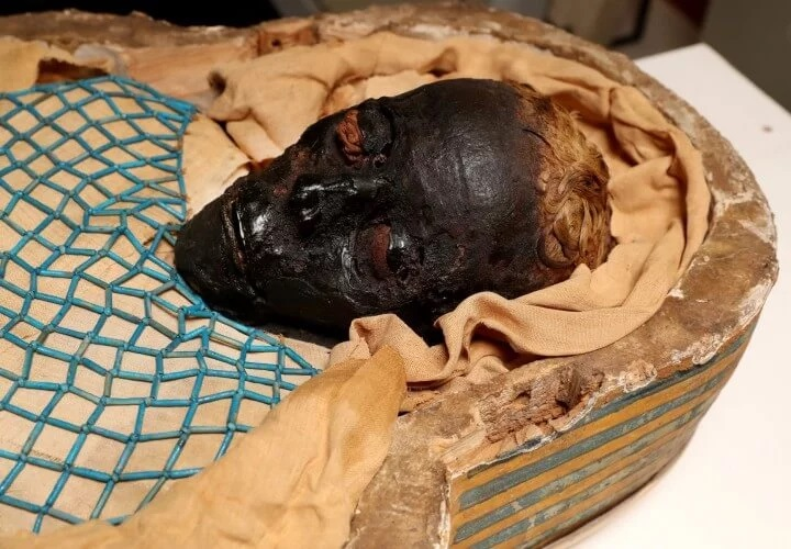 The mystery of the death of a woman mummified 2600 years ago is revealed 95