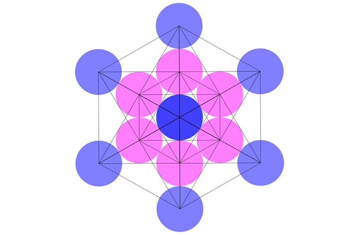 The Metatron cube: sacred glyph related to the structure of the universe 93