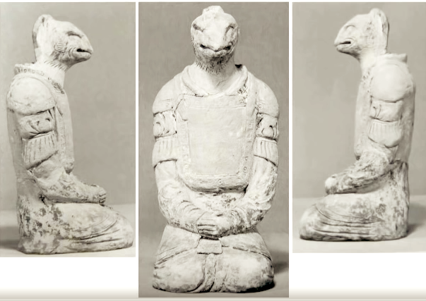The story behind the reptilian statue of the Horyuji Nara Temple, Japan 7