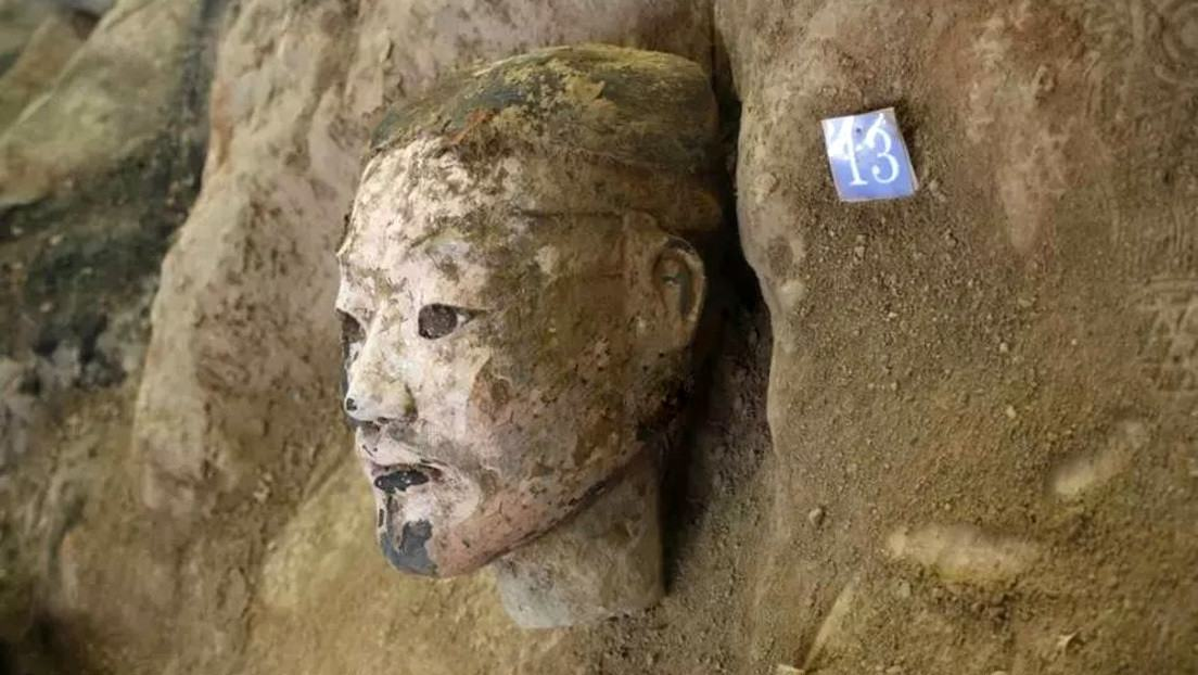 220 New terracotta warriors were discovered in China 8
