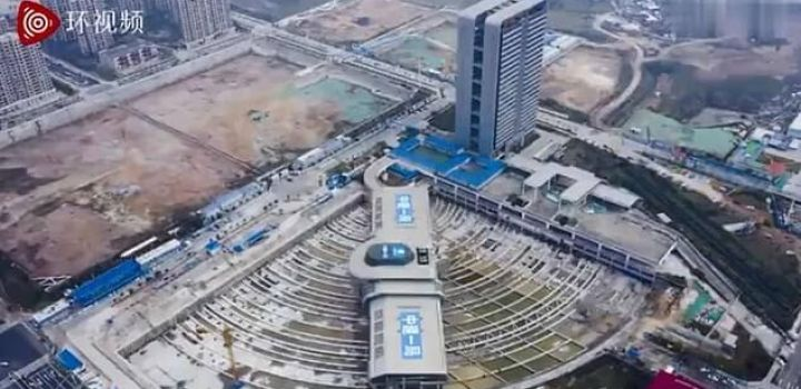 This is how China manages to turn the bus terminal of 30,000 tons in 90 degrees 1
