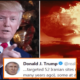 Trump promises Iran a nuclear strike? 98