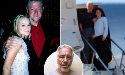 Bill Clinton photographed aboard Epstein's 'Lolita Express' 87