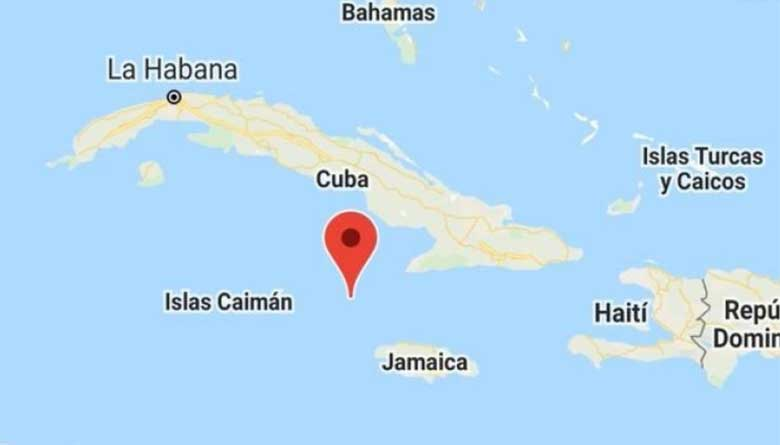 earthquake in the Caribbean
